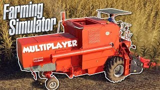 BAD FARMERS GROW CORN! - Farming Simulator 19 Multiplayer Gameplay