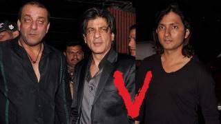 Shah Rukh Khan Slaps Farah Khan's Husband Shirish Kunder At Sanjay Dutt's Agneepath Success Party