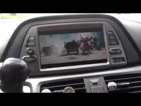 Honda Odyssey Touring Dvd System