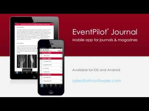 EventPilot Journal Edition - Mobile app for medical and scientific journals