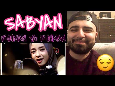 """Download  Reacting to Sabyan Cover """" ROHMAN YA ROHMAN """" Gratis, download lagu terbaru"""