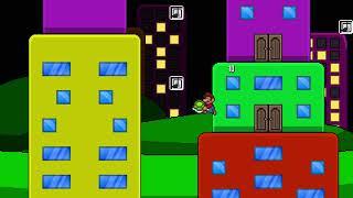 Super Mario Bros. X (SMBX) Custom Level - Floating Area