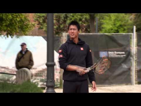 Barcelona 2015 Nadal Nishikori Mini-Tennis
