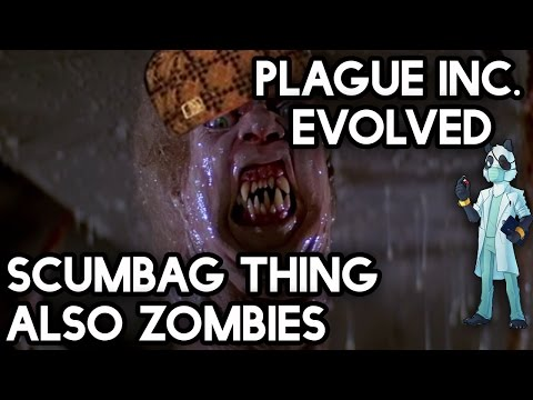 Plague Inc. Gameplay #37 - Scumbag Thing, Also Zombies with Yogscast Panda