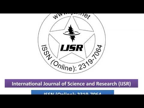 International Journal of Science and Research (IJSR)