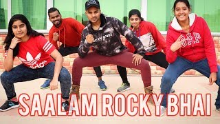 Salaam Rocky Bhai video song dance cover| KGF Chapter 1 | Yash | SAAD | SaadStudios