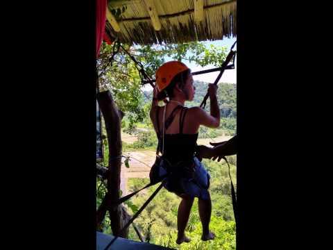 Zip Line at Ugong Rock (Anj Boncajes)