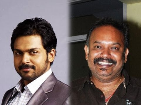 Venkat Prabhu to Direct Karthi in Briyani