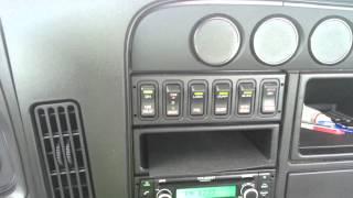2015 international prostar dashboard toggle lights problems.