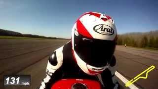 Honda VFR800F -- exclusive performance testing