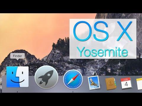 OS X Yosemite Demo (10.10 DP)