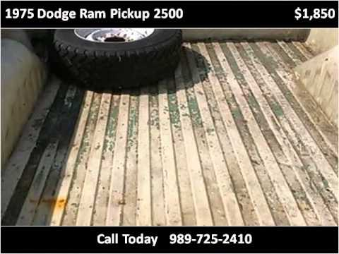 1975 Dodge Ram Pickup 2500 Used Cars Owosso MI