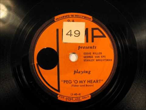 PEG 'O' MY HEART by Eddie Miller - George Van Eps JAZZ