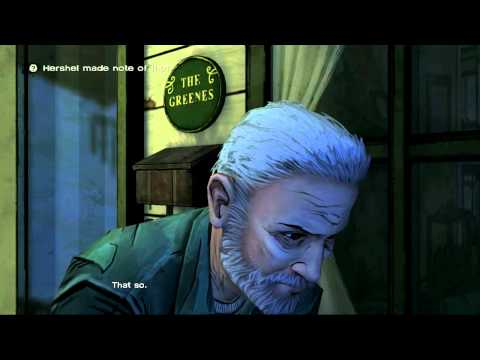 Walking Dead Ep1 - Walkthrough w/commetnary - Herschel Greene Chronicles - Part 3