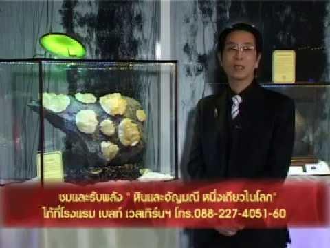 004 เกร็ดฮวงจุ้ย โดย อาจารย์หม่า อัญมณีดอกไม้นำโชค