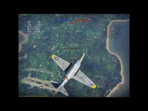 This is a typical P-80 realistic battle after 5/10 minutes then entering a dogfight, i've cut the clip down just to show how quick this dogfight went down. S...