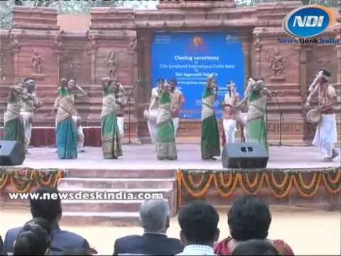 Rangali Bihu Dance Of Assam In Surajkund Craft Fair 2013 video