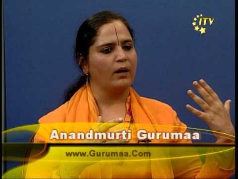 Gurumaa Anandmurti With Ashok Vyas 2007 part 1