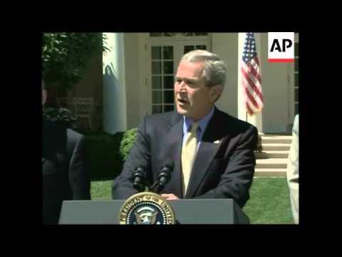 WRAP Bush on Iran, immigration, hurricanes
