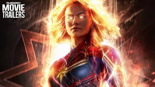 CAPTAIN MARVEL Trailer #2 (2019) - Brie Larson & Jude Law Marvel Movie