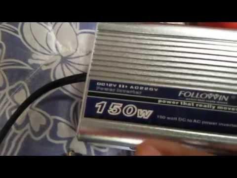 ระบบไฟบ้านโซล่าเซลล์แบบ DC 12 V (บ้านกินแดด) by ช่างดำ ..