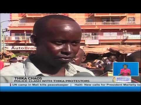 Thika Market Drama: A Female Trader Allegedly Shot Dead By Police In Thika Town video