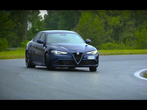 NEW! Chris Harris Drives The Alfa Romeo Giulia Quadrifoglio - Chris Harris Drives - Top Gear