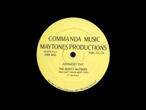 12'' The Mighty Matones - Who Can't Hear Must Feel