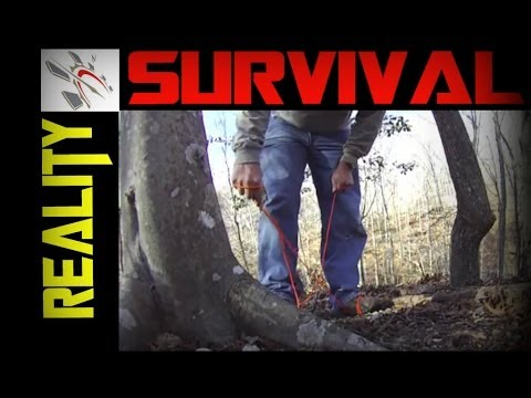 Survival Tips and Tricks   Cut 550 With No Knife