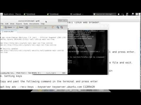 Install Mozilla Firefox Browser on Kali Linux