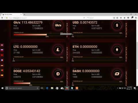 New high Paying Bitcoin Cloud Mining Site!!Vix Ice(2017)