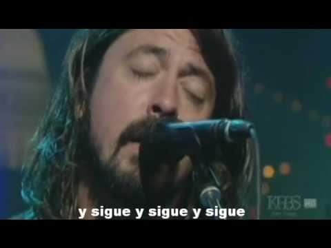 Aurora live- Foo Fighters (sub español)