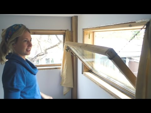 How to Build & Install a Wooden Window