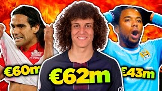 10 Craziest Transfer Fees in Football History! | Radamel Falcao, David Luiz & Robinho