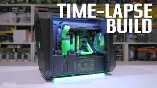 Antec P8 Time-lapse Build