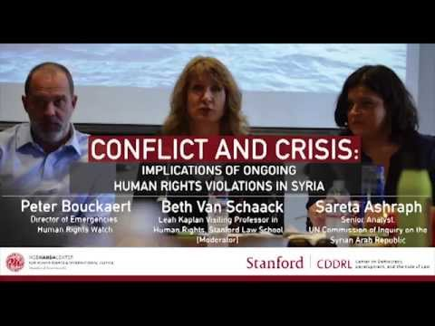 Conflict and Crisis: Implications of Ongoing Human Rights Violations in Syria