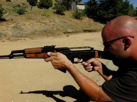 High speed video of Century Arms Wasr-10/63 AK-47 (220fps)
