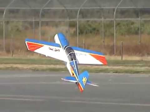 YAK-54 Art-Tech   Flight Review   Aerobatic 3D