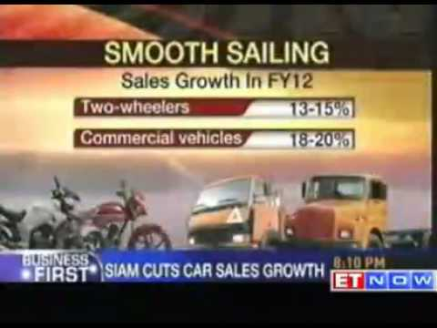 SIAM cuts FY12 car sales growth forecast by up to 2%