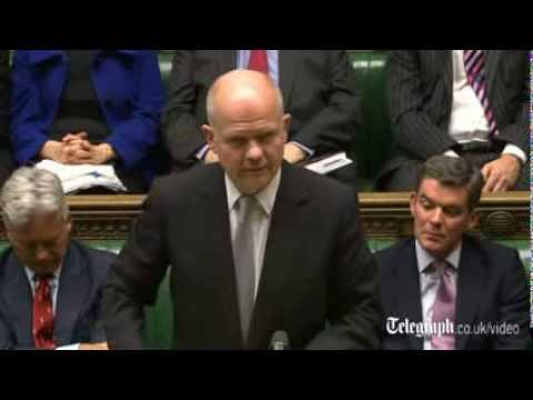 William Hague: Ukraine faces economic collapse