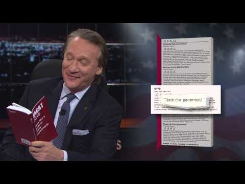 Real Time with Bill Maher: Black Man's Zagat Guide to Police Depts. (HBO)