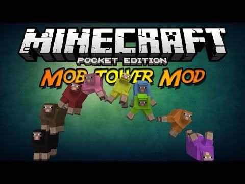 Minecraft PE 0.10.X ModScript | Mob Tower Mod (Español) (Torre de Mobs)