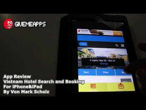 Vietnam Hotel Search And Booking iPhone/iPad App Review | GiveMeApps