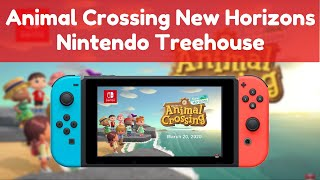 Animal Crossing New Horizons   Nintendo Treehouse Reaction