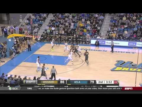 UCLA vs #7 Missouri Basketball Dec 28, 2012