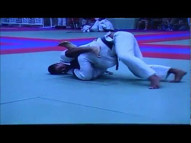 Rener Gracie vs Roberto Gordo Correa at 2003 Pan Am BJJ