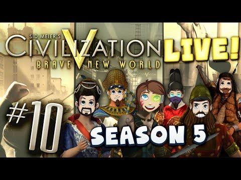 Civ 5 Live Part 10 - Admiral Xephos