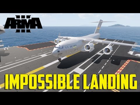 ARMA 3 Carrier Operations - Impossible Landing