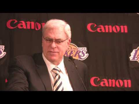 Phil Jackson 12 9 on Bynum, bench play