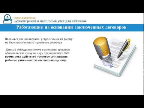 Программа для расчета среднесписочной численности работников